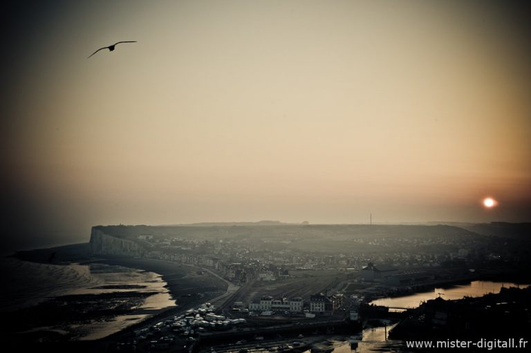 Tréport soleil levant