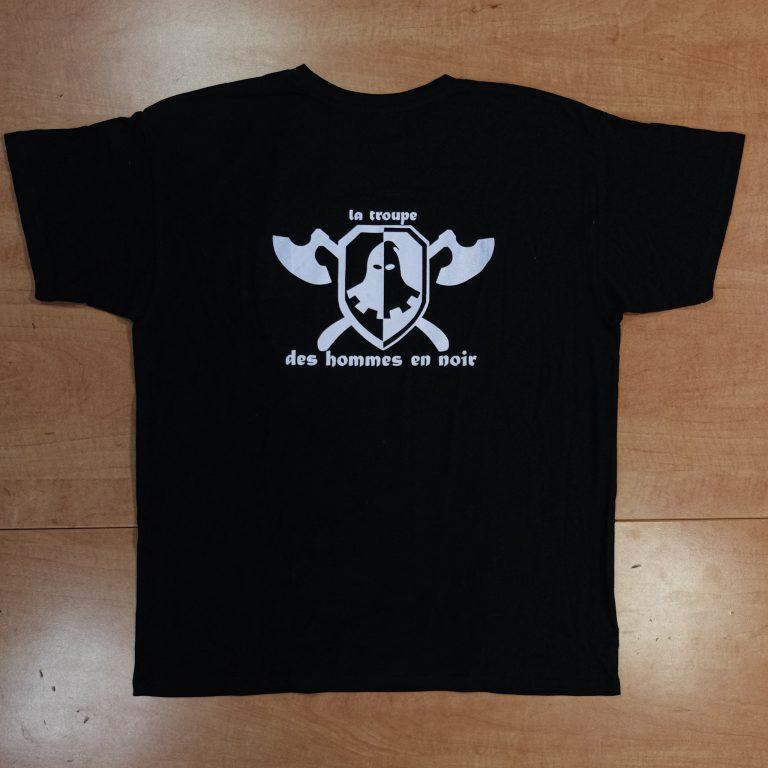 T-shirt officiel verso